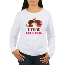 1 Year Together Anniversary T-Shirt