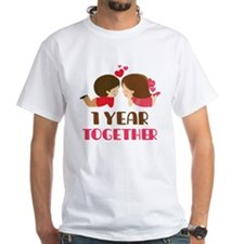 1 Year Together Anniversary Shirt