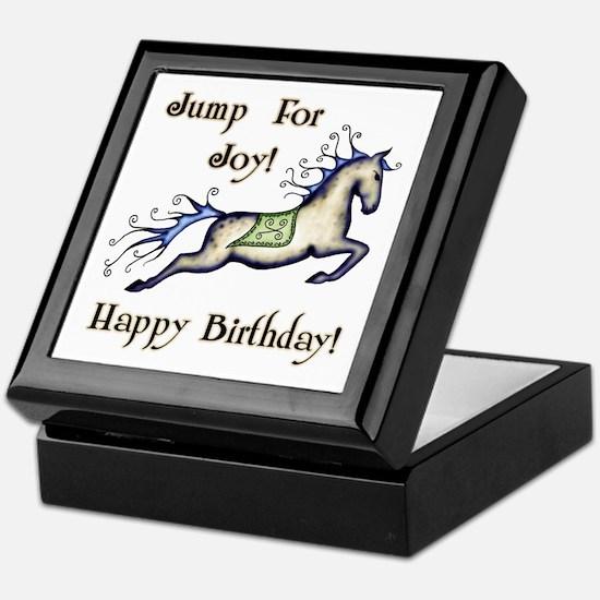 Happy Birthday! Horse Keepsake Box