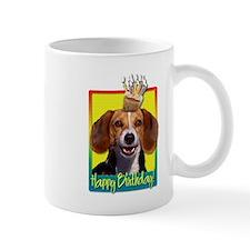 Birthday Cupcake - Beagle Mug