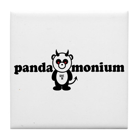 PANDAMONIUM Tile Coaster