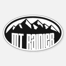 Mt. Rainier Ansel Adams Decal