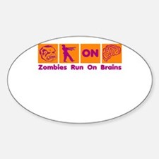 Funny Zombies Dunkin Donuts Decal