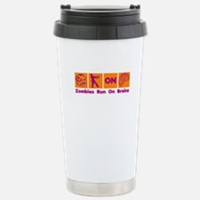 Funny Zombies Dunkin Donuts Stainless Steel Travel