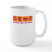 Funny Zombies Dunkin Donuts Mug