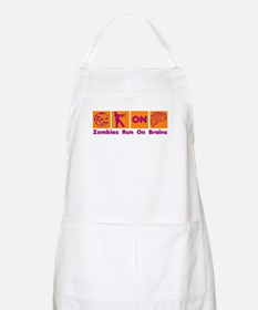 Funny Zombies Dunkin Donuts Apron