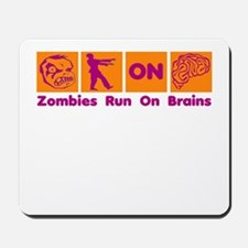 Funny Zombies Dunkin Donuts Mousepad