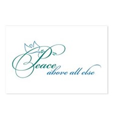 Peace Above All Else Postcards (Package of 8)