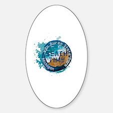 Michigan state Sticker (Oval)