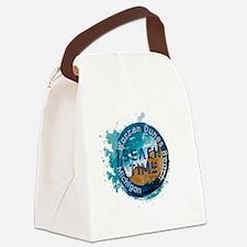 Sun sand Canvas Lunch Bag
