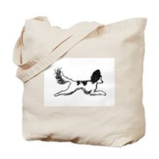 Leaping Papillon Tote Bag