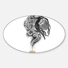 Bearded Rasta Dragon Decal