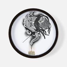 Bearded Rasta Dragon Wall Clock