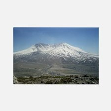 Mt St Helens Rectangle Magnet