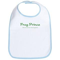Frog Prince...Kiss Me Bib