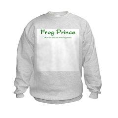 Frog Prince...Kiss Me Sweatshirt