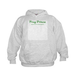 Frog Prince...Kiss Me Hoodie