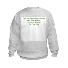 Thou hast promised... Sweatshirt
