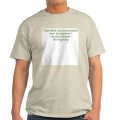 Thou hast promised... Ash Grey T-Shirt