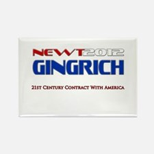 Newt Gingrich President 2012 Rectangle Magnet (10