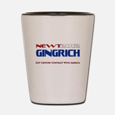 Newt Gingrich President 2012 Shot Glass