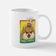 Birthday Cupcake - Pom Mug