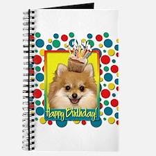 Birthday Cupcake - Pom Journal