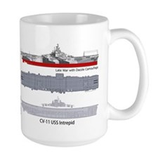USS Intrepid CV-11 CVA-11 CVS-11 Mug