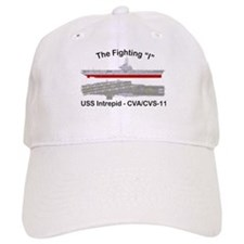 USS Intrepid CVA-11 CVS-11 Baseball Cap