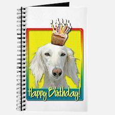 Birthday Cupcake - Saluki Journal