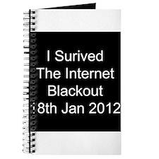 I Survived Internet Blackout 2012 Journal