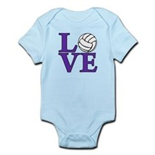 Volleyball LOVE Infant Bodysuit
