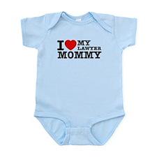 I love My Lawyer Mommy Infant Bodysuit