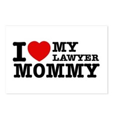 I love My Lawyer Mommy Postcards (Package of 8)