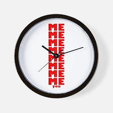 Me You Wall Clock