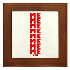 Me You Framed Tile