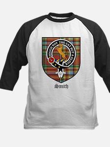 Smith Clan Crest Tartan Kids Baseball Jersey
