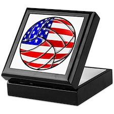 U.S. Volleyball Keepsake Box