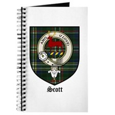 Scott Clan Crest Tartan Journal