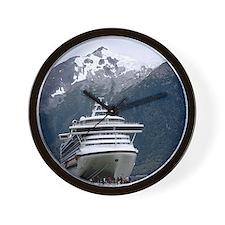 Cruise Alaska Wall Clock