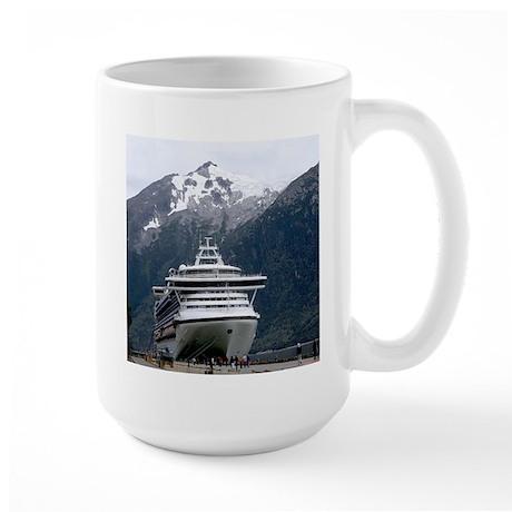 Cruise Alaska Large Mug