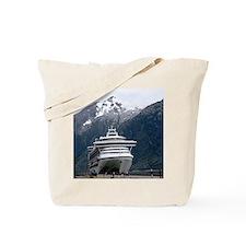 Cruise Alaska Tote Bag