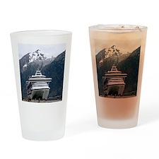 Cruise Alaska Drinking Glass