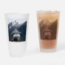 Cruise Alaska Drinking Glass