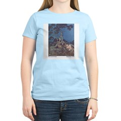 Dulac's Beauty & the Beast Women's Pink T-Shirt