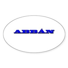 ABBÁN Decal