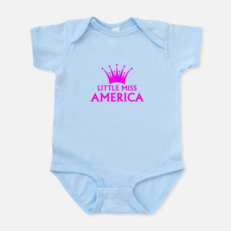 Little Miss America Infant Bodysuit