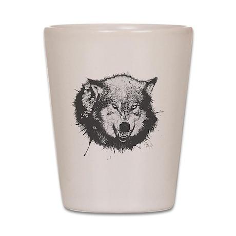 Vicious Wolf Shot Glass