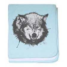 Vicious Wolf baby blanket