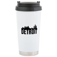 Detroit City Travel Mug